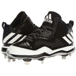 Adidas Performance PowerAlley 4 Mid Metal Cleats